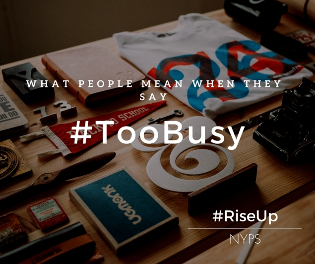 #TooBusy