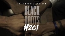 about the series   BLACK BOOTS - SEASON 2 - We return to the campus of Brooks University, just in time for elections, drama, and scandal... Watch as the drama unfolds in episode #201. Oh, don't forget to see what President Henderson is up to these days. His fall from grace continues as he wakes up in a brand new environment. (Shortie versions only)