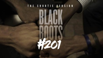 about the series | BLACK BOOTS - SEASON 2 - We return to the campus of Brooks University, just in time for elections, drama, and scandal... Watch as the drama unfolds in episode #201. Oh, don't forget to see what President Henderson is up to these days. His fall from grace continues as he wakes up in a brand new environment. (Shortie versions only)